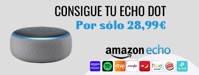 Oferta dispositivo Amazon Echo
