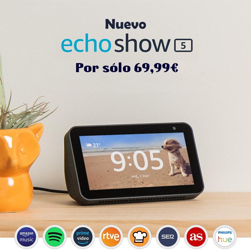 Oferta dispositivo Amazon Echo